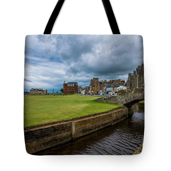 Swilcan Burn - The Old Course  Tote Bag