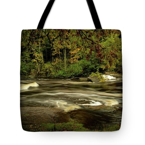 Swirling River Tote Bag