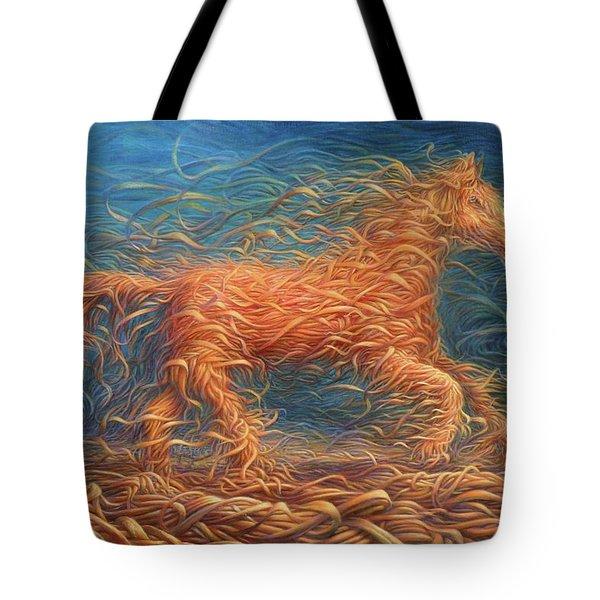 Swirly Horse 1 Tote Bag