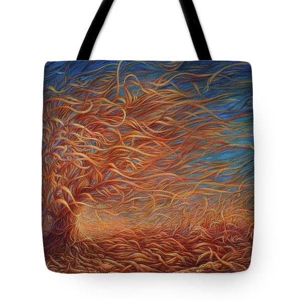 Swirly Tree 2 Tote Bag