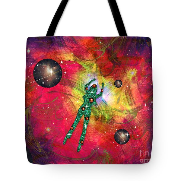 Synchronicity Tote Bag