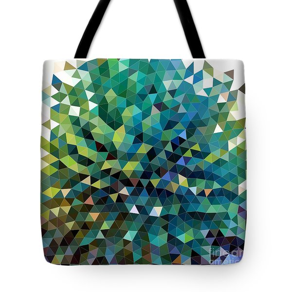 Synchronicity Of Color Tote Bag