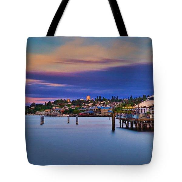 Tacoma, Point Ruston Tote Bag
