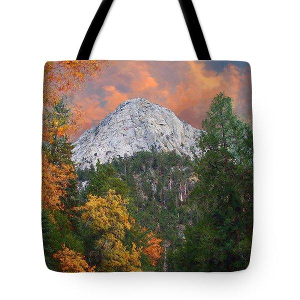Tahquitz Peak - Lily Rock Painted Version Tote Bag