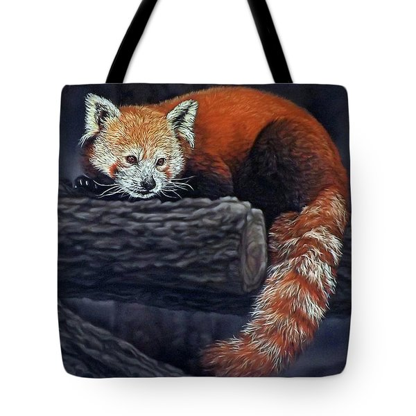 Takeo, The Red Panda Tote Bag