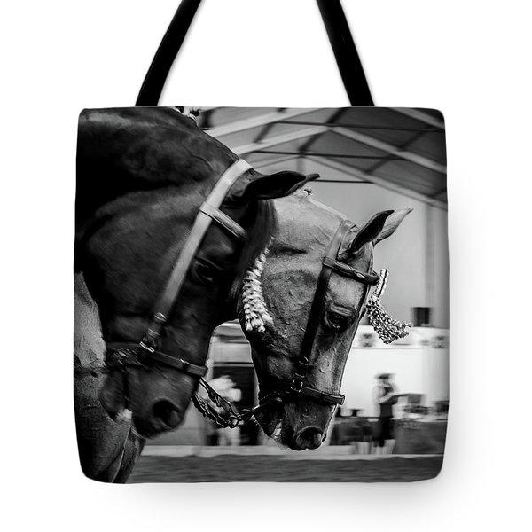 Takin' The Lead Tote Bag
