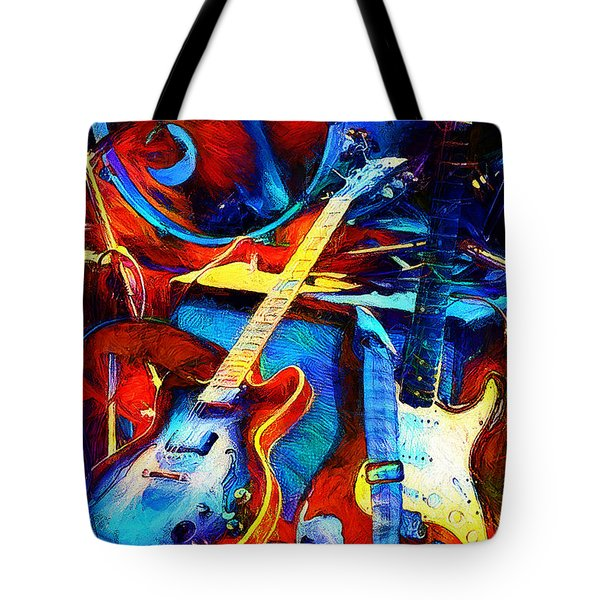 Tote Bag featuring the digital art Taking A Break by Pennie McCracken