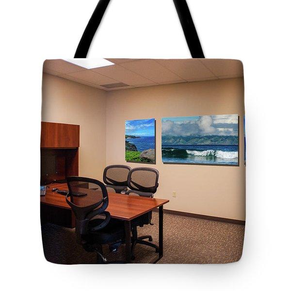 Tamara Office West Wall Tote Bag