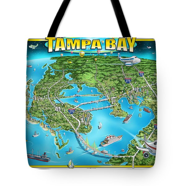 Tampa Bay 2019 Tote Bag
