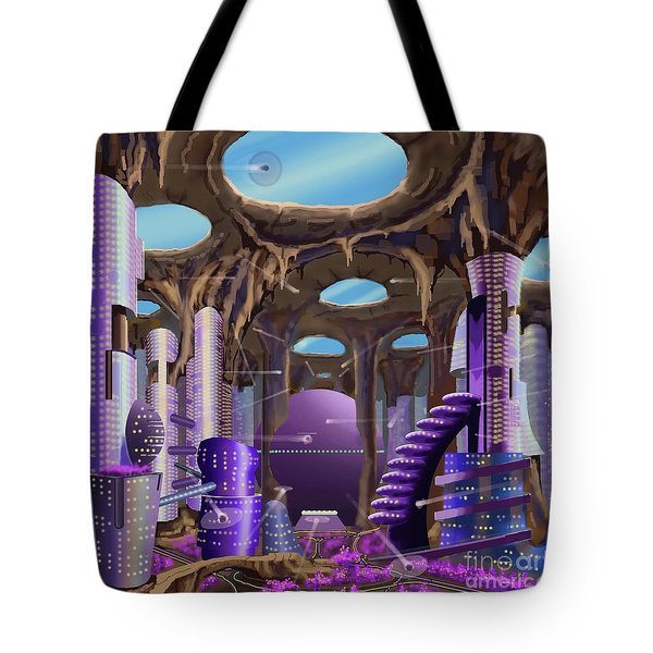 Tandalo, Sferogyl's Capital Tote Bag