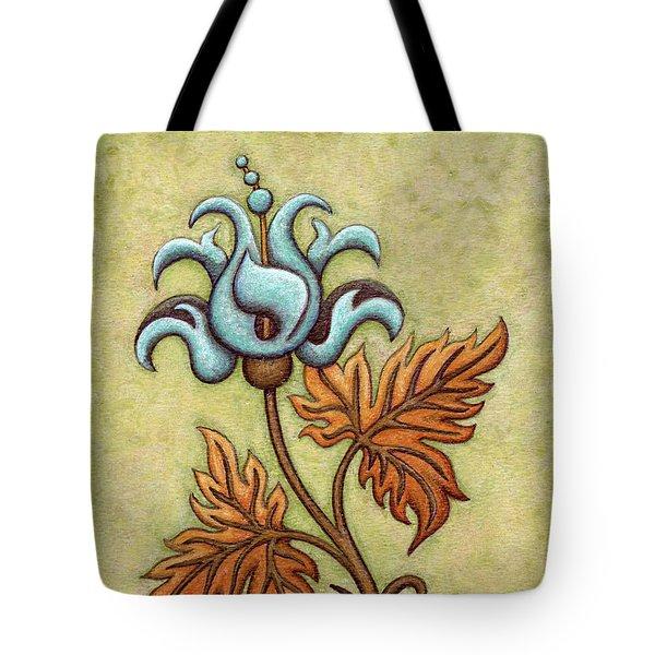 Tapestry Flower 2 Tote Bag