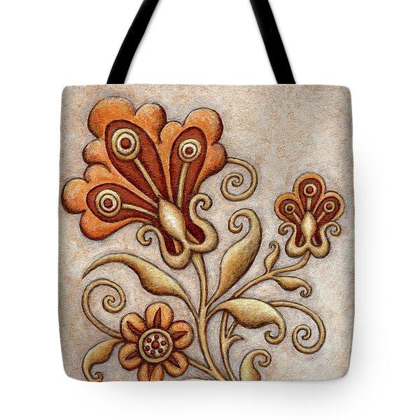 Tapestry Flower 3 Tote Bag