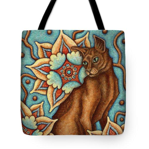 Tapestry Cat Tote Bag