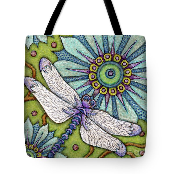 Tapestry Dragonfly Tote Bag