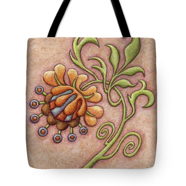 Tapestry Flower 10 Tote Bag