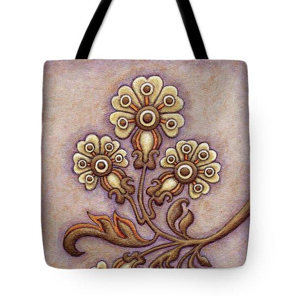 Tapestry Flower 4 Tote Bag