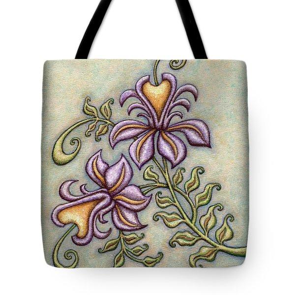 Tapestry Flower 8 Tote Bag