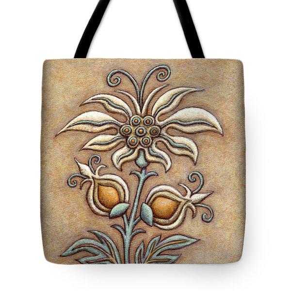Tapestry Flower 9 Tote Bag