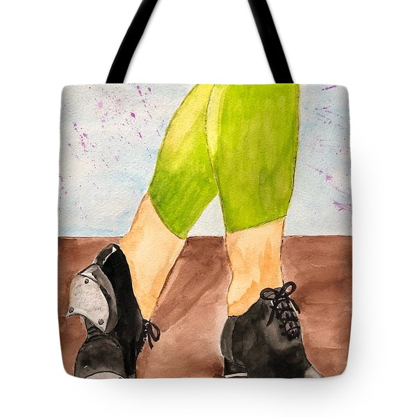 Tappin Toes Tote Bag