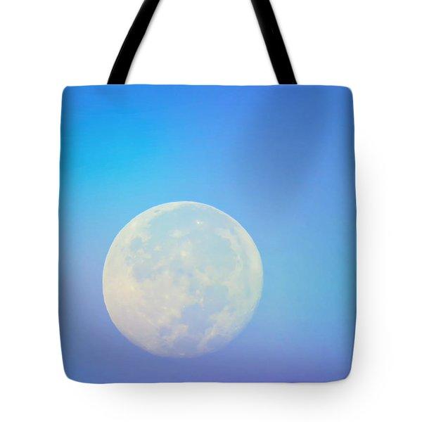 Taurus Almost Full Moon Blend Tote Bag