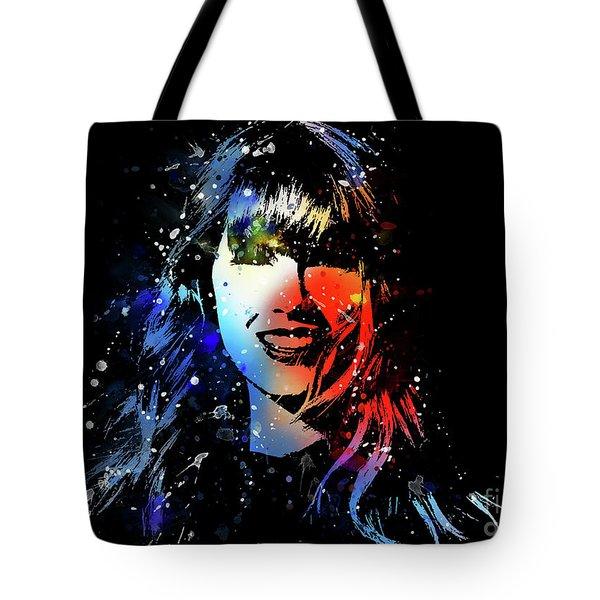Taylor Swift Art Tote Bag