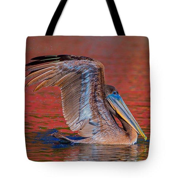 Tchefuncte Pelican Tote Bag