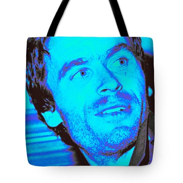 Ted Bundy Blue Tote Bag
