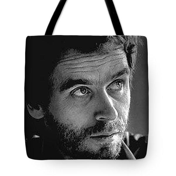 Ted Bundy Bw Tote Bag