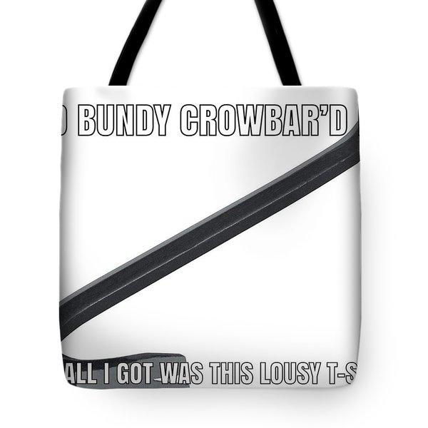 Ted Bundy Crowbar Tote Bag