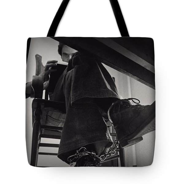 Ted Bundy Desk Tote Bag