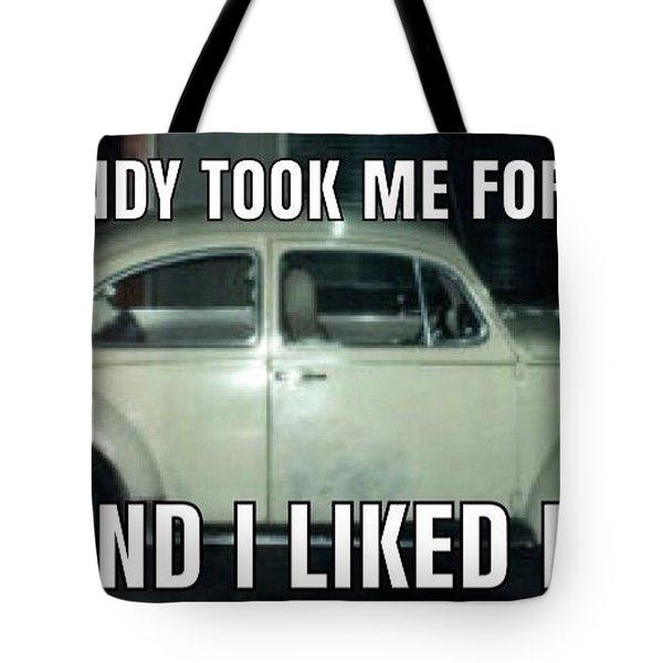 Ted Bundy Ride Tote Bag