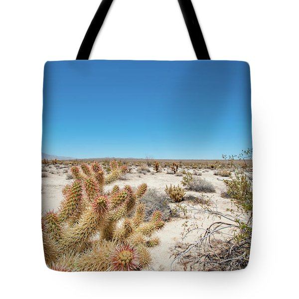 Teddy Bear Cactus Tote Bag
