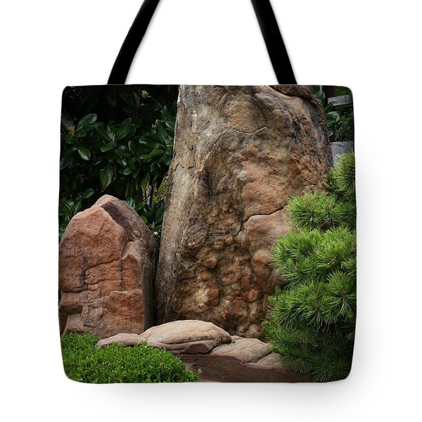 Tote Bag featuring the photograph Teeny Weeny And Biggy Wiggy - Rock Formations by Debi Dalio