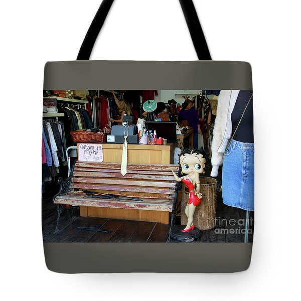 Tote Bag featuring the photograph Tel Aviv Flea Market by PJ Boylan