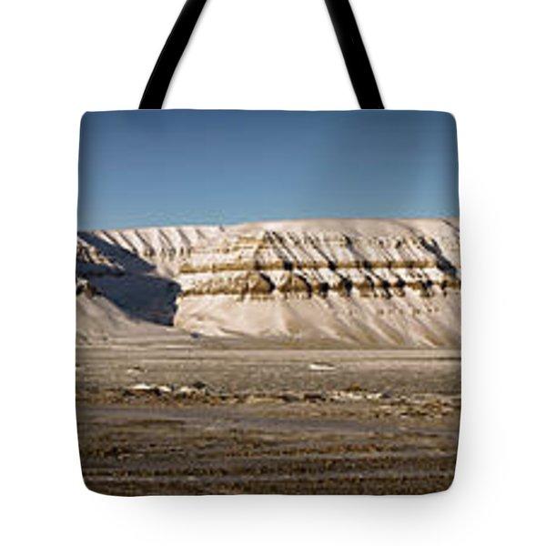 Tempelfjord Svalbard Tote Bag