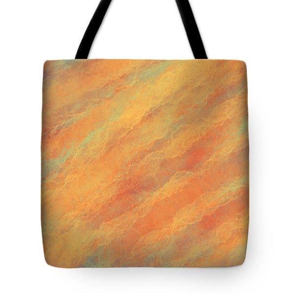 Tempered Lava Tote Bag
