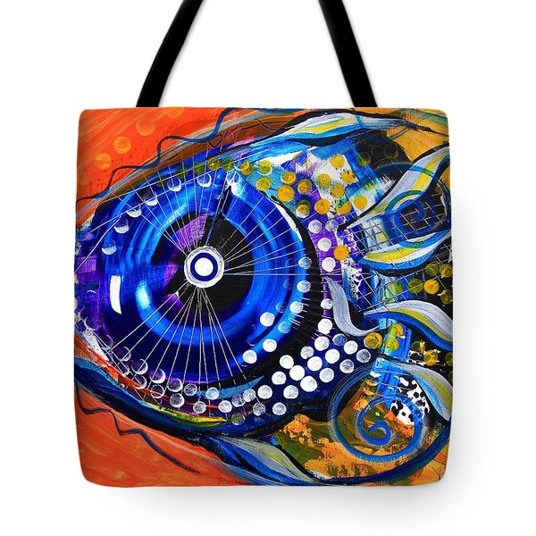 Tenured Acrimonious Fish Tote Bag