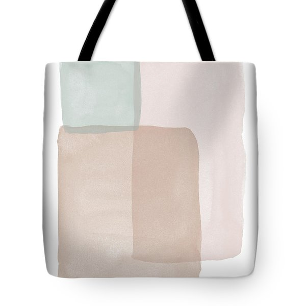 Terrazzo Watercolor Blocks 1- Art By Linda Woods Tote Bag