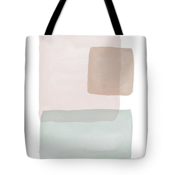Terrazzo Watercolor Blocks 2- Art By Linda Woods Tote Bag