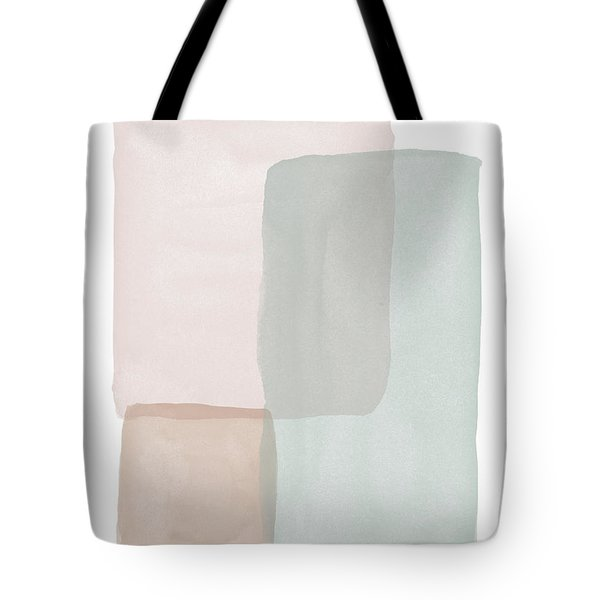 Terrazzo Watercolor Blocks 3- Art By Linda Woods Tote Bag