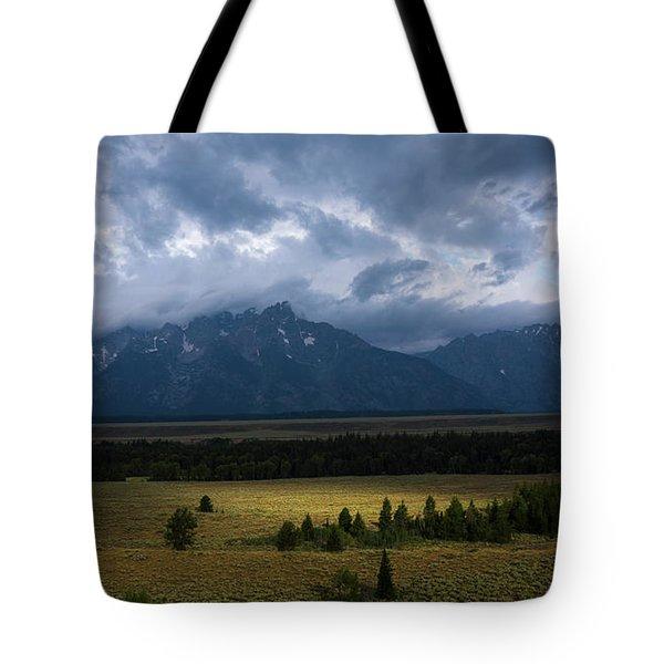Teton Park Tote Bag
