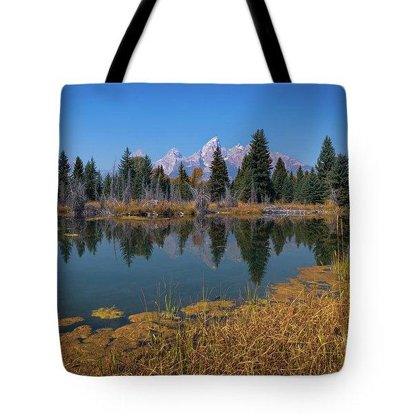 Tetons Majesty Tote Bag