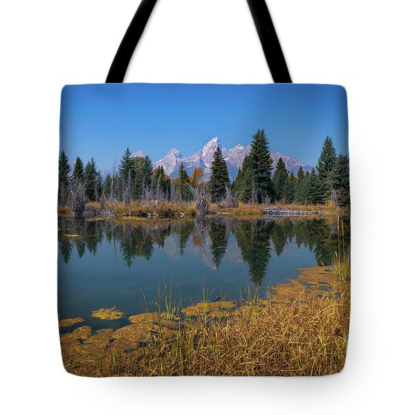 Tetons Majesty Tote Bag