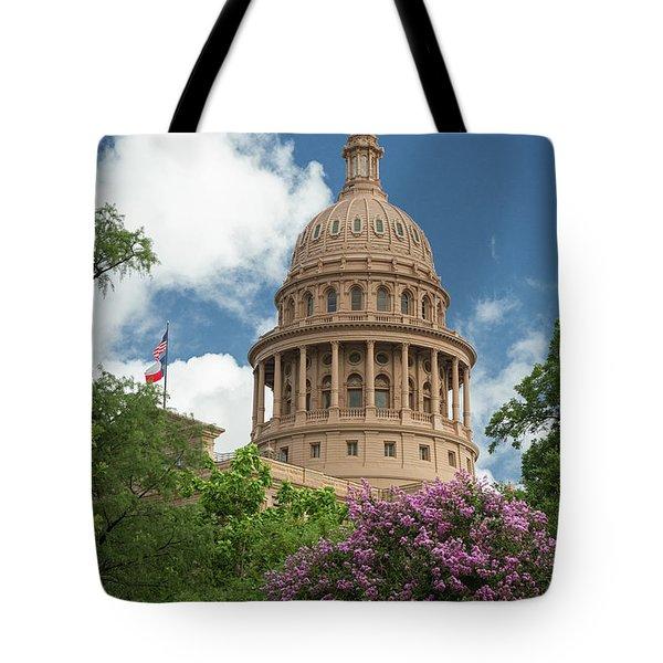 Texas Capital Building Tote Bag