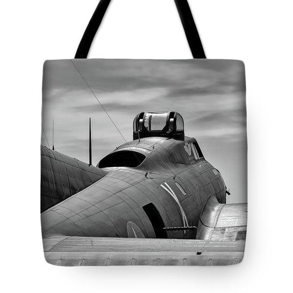 Texas Raiders On The Ramp Tote Bag