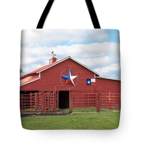 Texas Red Barn Tote Bag