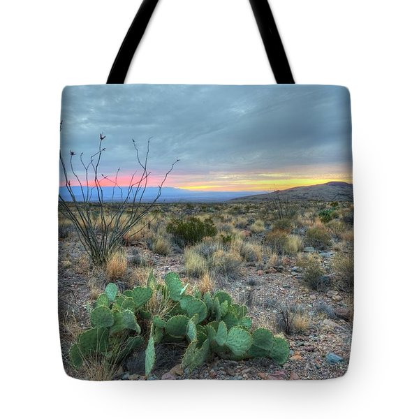 Tote Bag featuring the photograph Texas Sunrise by Joe Sparks