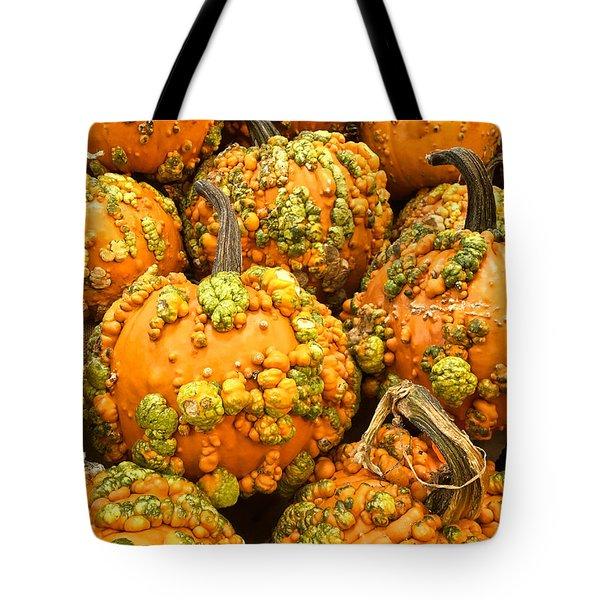 Textured Pumpkins  Tote Bag