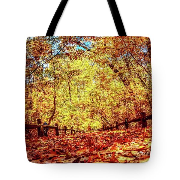 Thain Forest Tote Bag