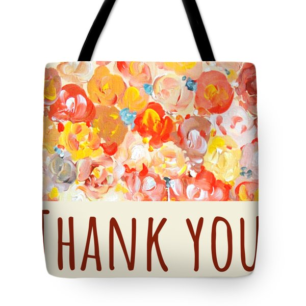 Thank You #2 Tote Bag